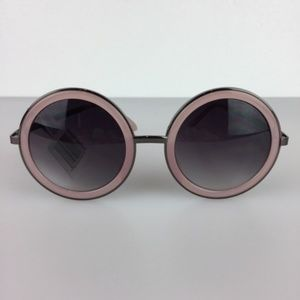 NWT Perverse Geek Chic Sunglasses Pink OS